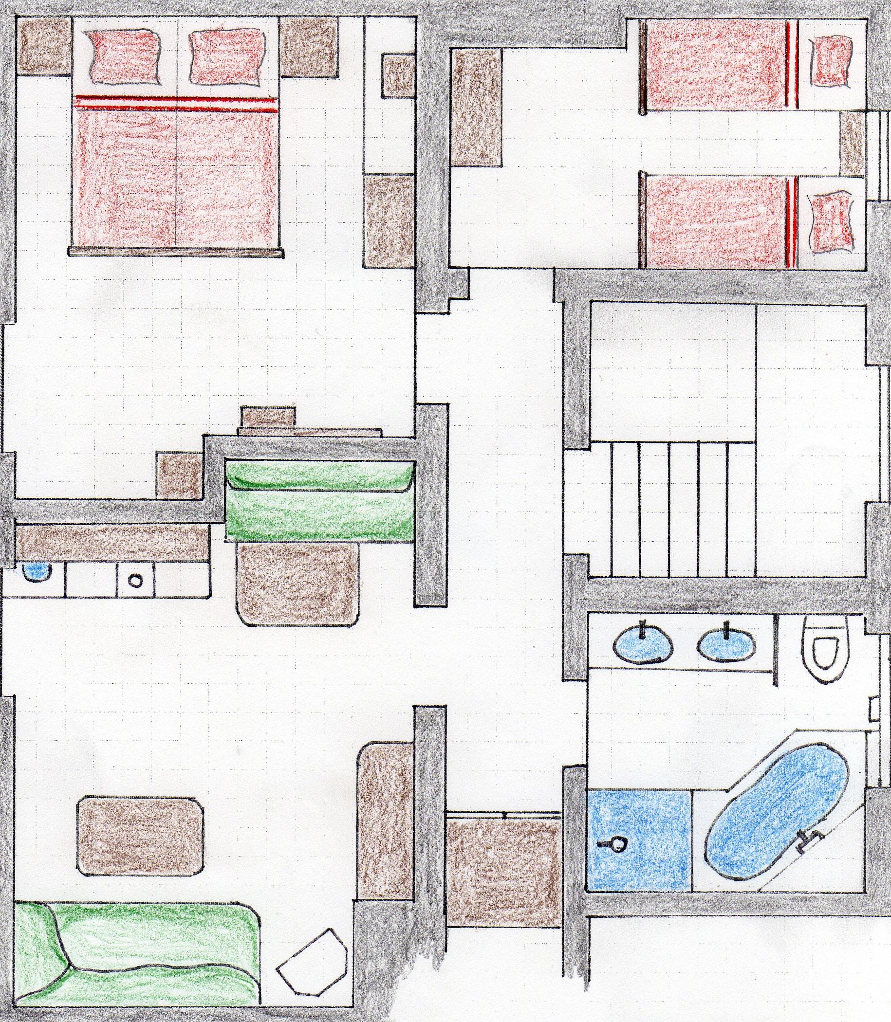 ferienwohnung iv f r 2 bis 4 personen im haus w ster in lech am arlberg. Black Bedroom Furniture Sets. Home Design Ideas
