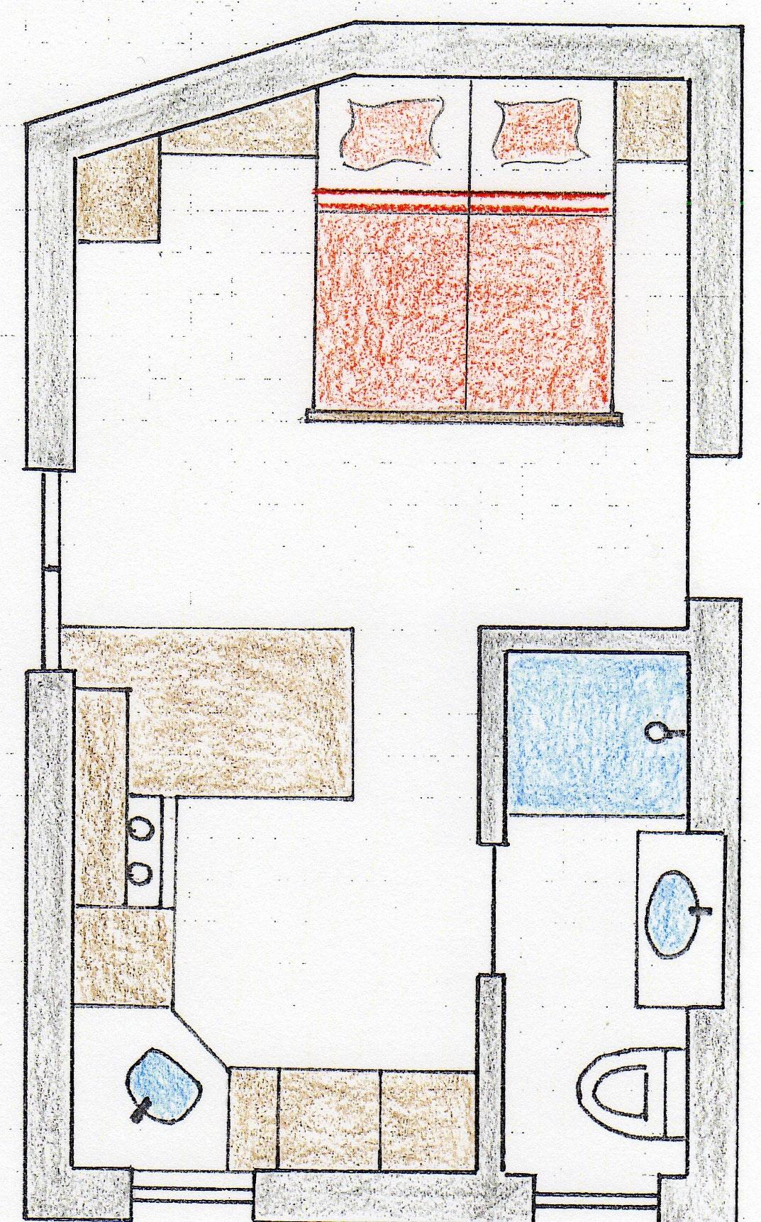 ferienwohnung v f r 1 bis 2 personen im haus w ster in lech am arlberg. Black Bedroom Furniture Sets. Home Design Ideas